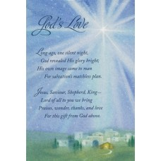God's Love Boxed Cards 18 cards 19 envelopes