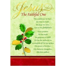 Jesus the faithful 18 cards 19 envelopes