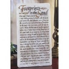 Abbey Press Footprints Marble Plaque
