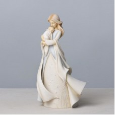Mother and Newborn Baby Figurine