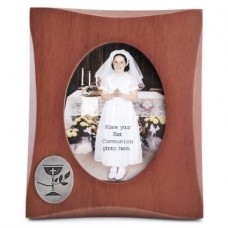 First Communion Wood Photo Frame Retired