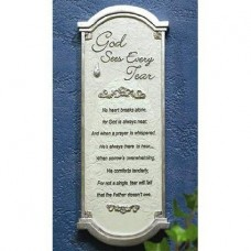 Memorial Tear Wall Plaque Retired