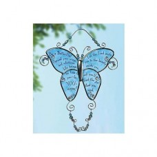 First Communion Glass Butterfly