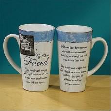 My Dear Friend Large Java Mug