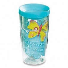 """BeYOUtiful Creation"" Butterfly Tumbler"
