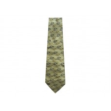 CHRISTIANS CLOSET SILK TIE FOLLOW ME TAN