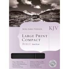 KJV (L) Print Compact Blk