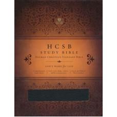 HCSB Study bible Blk BND