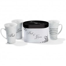 MUG PORCELAIN BRIDE & GROOM